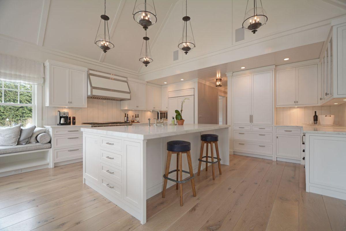 Kuchnia w stylu Hampton  kuchnia w stylu  Kuchenny com pl -> Kuchnia Wysoki Sufit