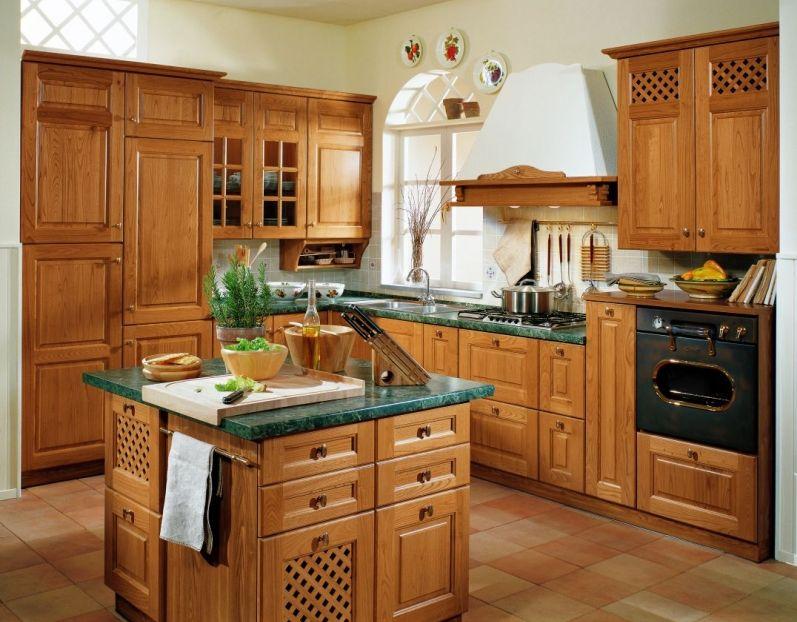 Kuchnia klasyczna  kuchnia w stylu  Kuchenny com pl -> Klasyczna Kuchnia Z Jadalnią
