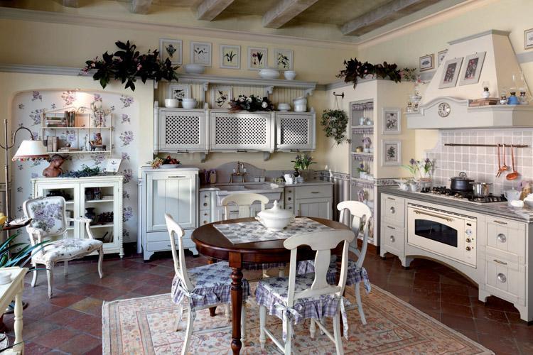 Kuchnia w stylu prowansalskim kuchnia w stylu kuchenny - Cucine provenzali francesi ...