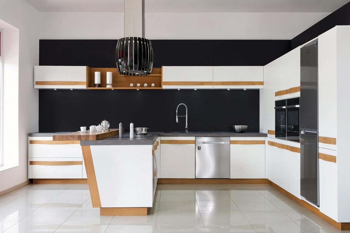 Kuchnia biała kontra kuchnia czarna  meble kuchenne  Max Kuchnie  Kuchen   -> Biala Kuchnia Utrzymanie Czystości