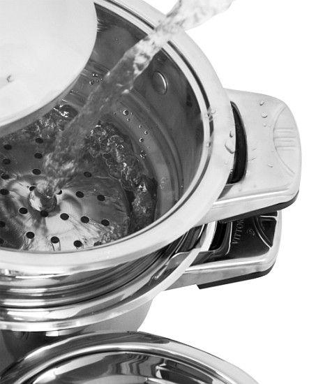 Nakładka do gotowania na parze