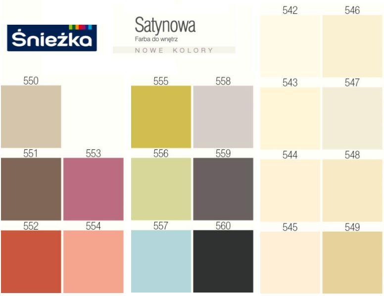 Paleta Barw Jpg  Grosir Baju Surabaya -> Sniezka Kuchnia Lazienka Kolory