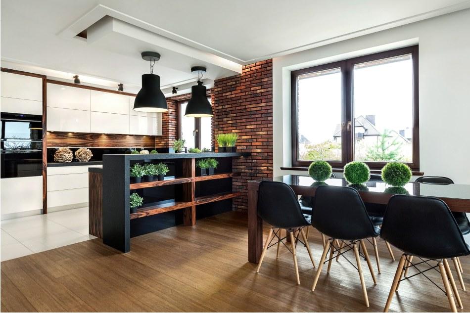 Nowe sposoby wykorzystania kuchni  projekty kuchni  Max   -> Kuchnia Z Cegiel