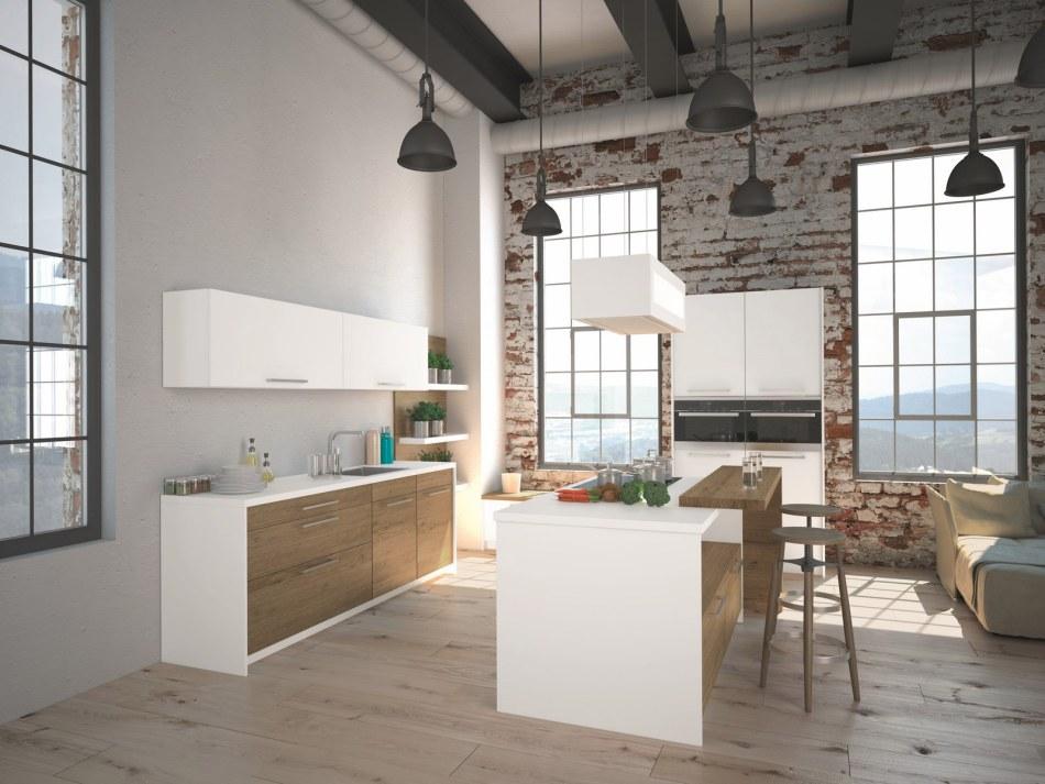 Max Kuchnie - aranżacja kuchni w stylu loftu