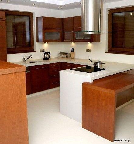 Aranżacja nowoczesnej kuchni z meblami firmy Luxum (1)