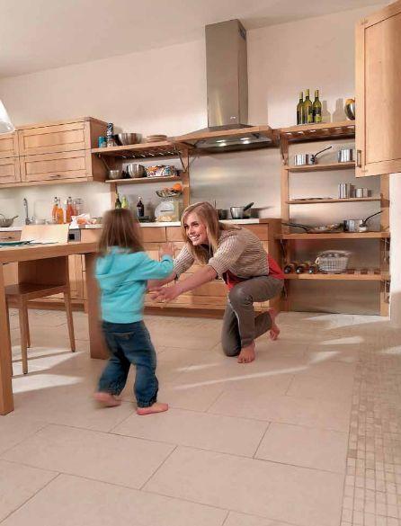 Ogrzewanie podłogwoe Pentair w kuchni