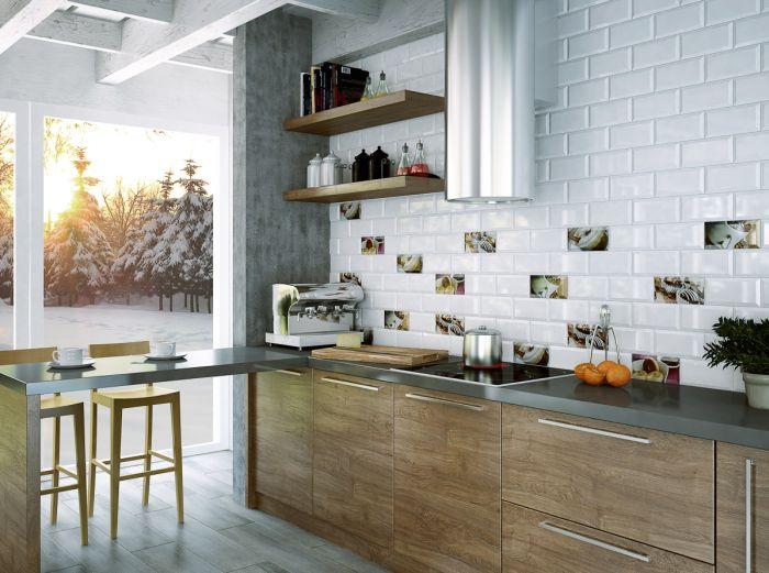 Płytki w kuchni  ściany i podłogi  Kuchenny com pl
