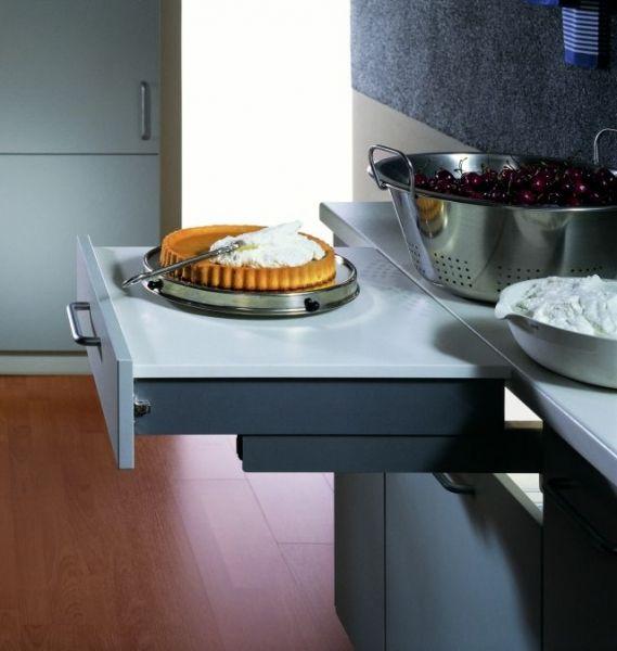 Dodatkowy blat w małej kuchni