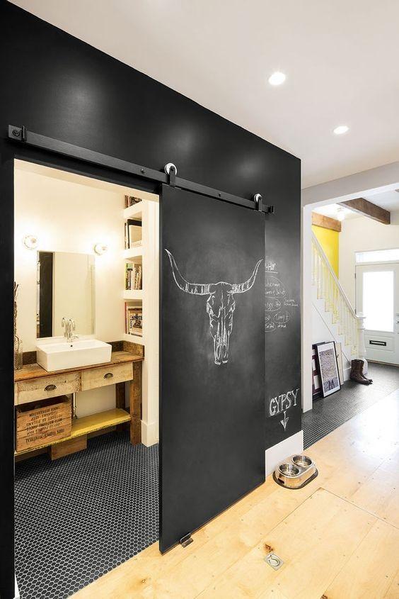 Młodzieńczy Drzwi przesuwne alternatywą dla drzwi tradycyjnych - design ze QR54