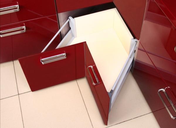 wysoka szuflada narożna TB10 Amix