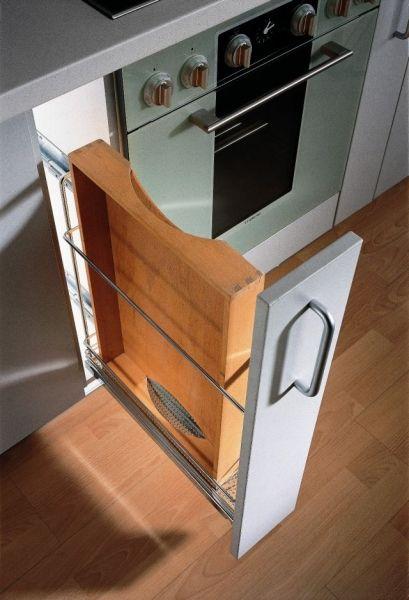 Mała kuchnia - systemy do mebli oszczędzające miejsce