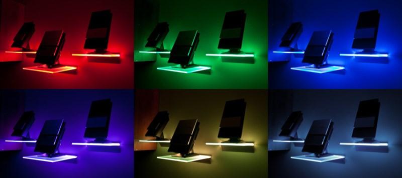 Podświetlana półka LED - producent SOLED
