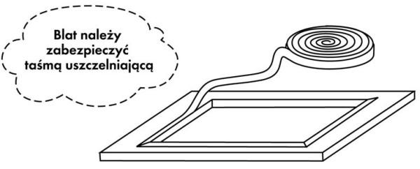 Kuchinox - Montaż stalowego zlewu wpuszczanego