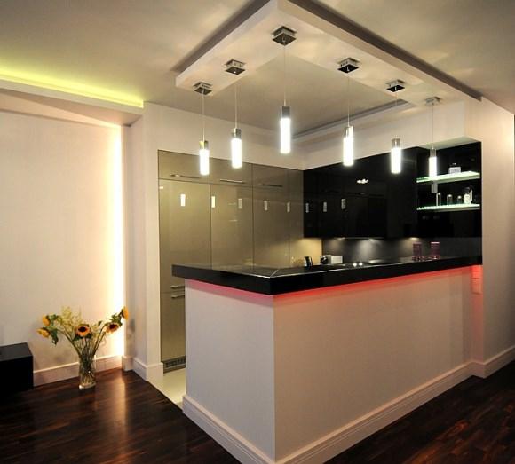 Inspiracje Oświetlenia Nowoczesnej Kuchni Oświetlenie W Kuchni