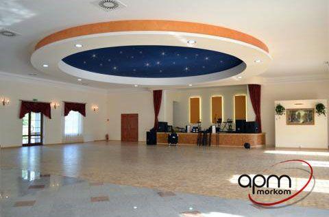 APM MORKOM - oświtelenie światłowodowe sali weselnej