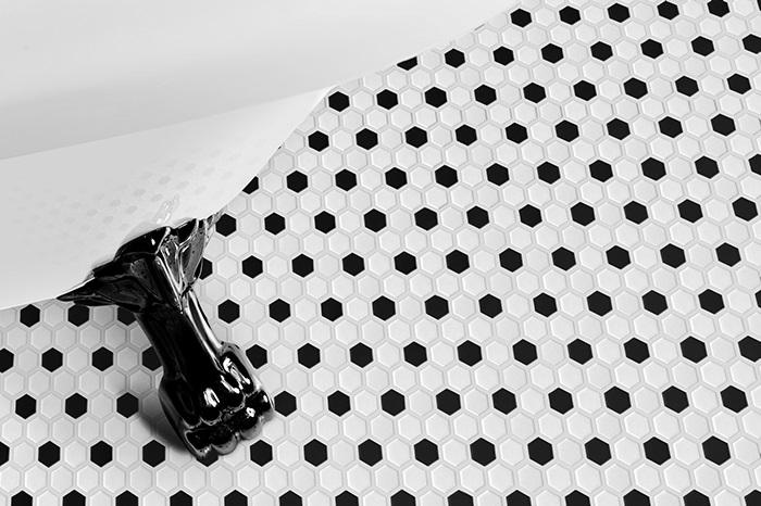 Arabesco Mini Hexagon Mix Tub - DUNIN