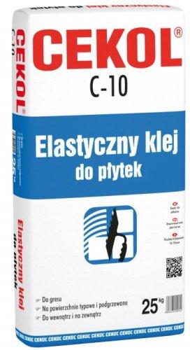 CEKOL C-10 elastyczny klej do płytek