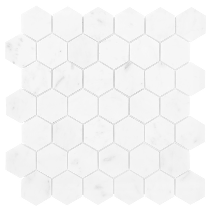 Carrara Hexagon - mozaika Dunin