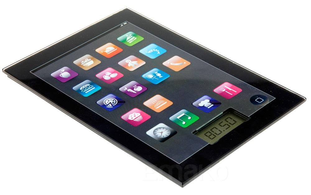 Elektroniczna waga kuchenna - iPad Design