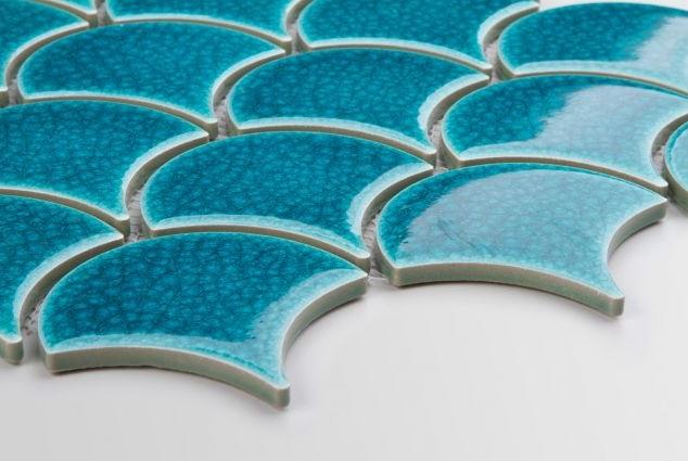 Flabellum Blue Lagoon - Raw Decor