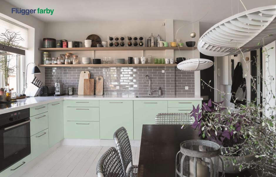 farby Flugger - kuchnia