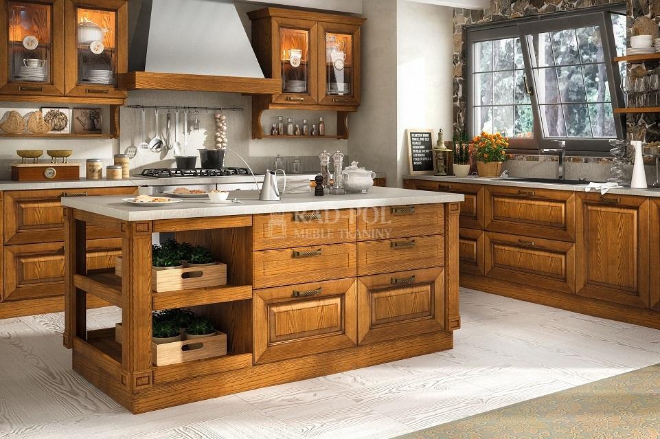 klasyczna kuchnia Regale Rovere - Rad-Pol