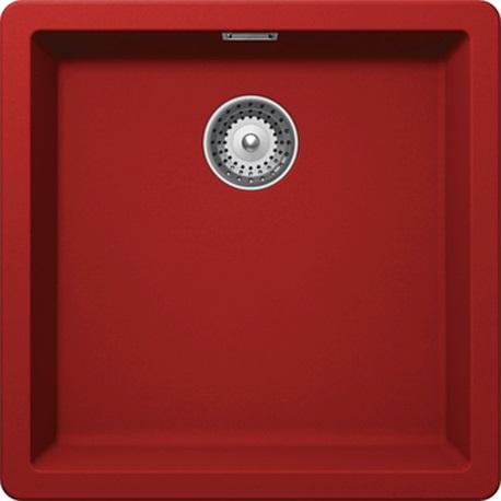 SCHOCK zlewozmywak GREENWICH N-100 Rouge CRISTADUR - CCI
