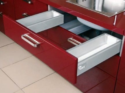 TB20 System Box do szuflad pod zlew