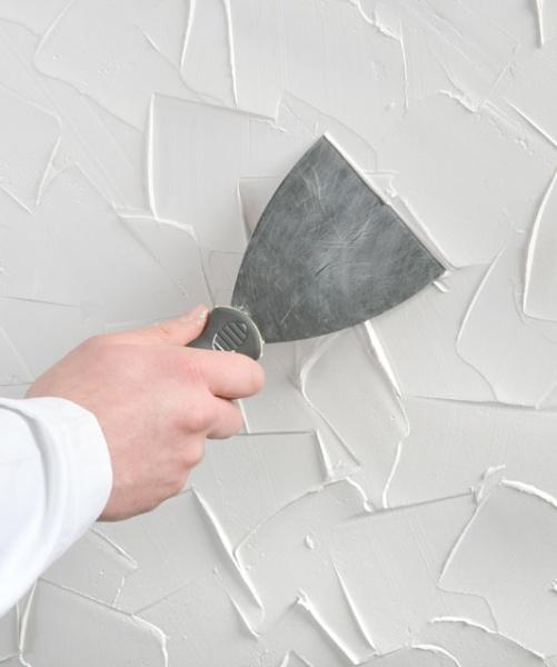 Pomysł Na ścianę W Kuchni Dekoracyjny Tynk ściany I