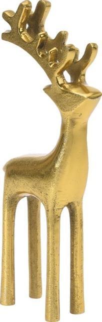 figurka złoty renifer