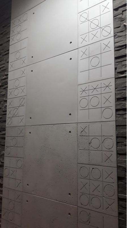 Płytki betonowe z motywem