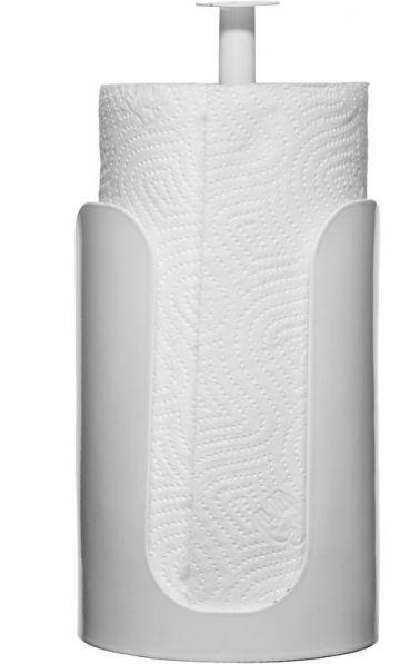 Metalowe stojaki na ręczniki papierowe - biały