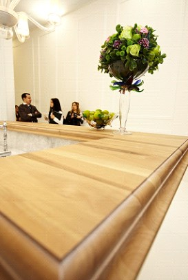 drewniany blat kuchenny - Peka