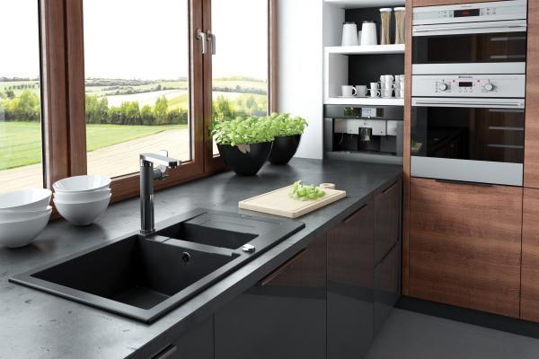 Czarny mat w kuchni - nowy trend wnętrzarski