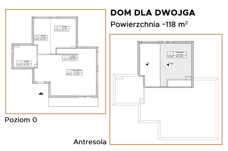 Dom dla dwojga w konkursie dla projektantów wnętrz!
