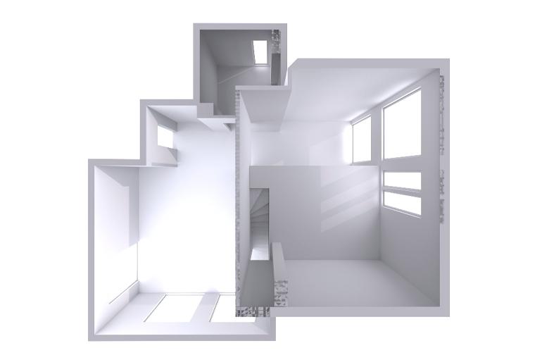 Dom dla dwojga z antresolą - zadanie konkursowe