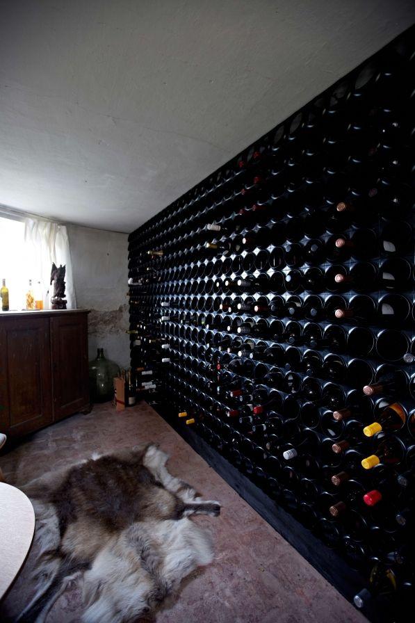 Stojak na wino plastikowy NUANCE - domowa piwniczka z winem