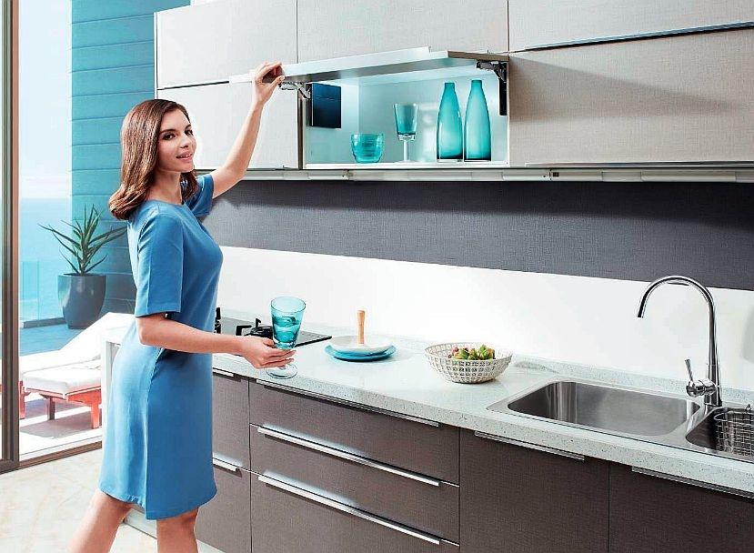 W ergonomicznej kuchni - zasady urządzania