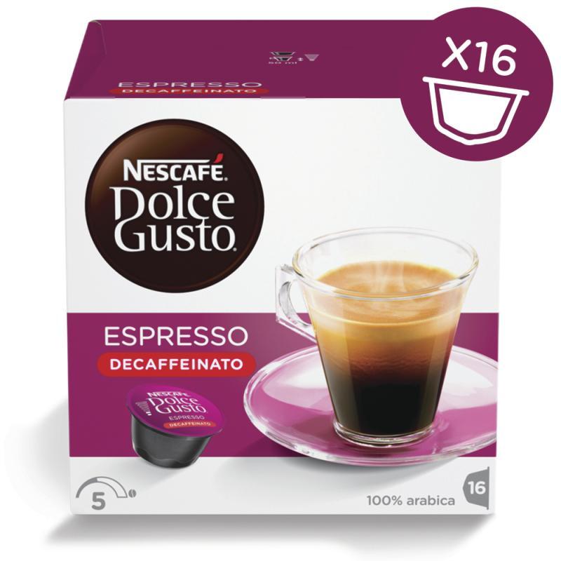 espresso bezkofeinowe - Nescafe Dolce Gusto