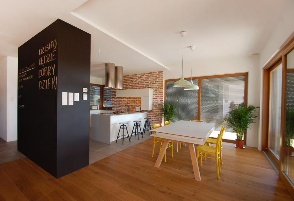 Aranżacje kuchni z farbą tablicową  ściany i podłogi  Kuchenny com pl