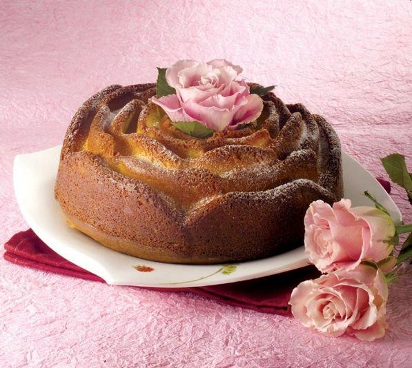 kształty form do pieczenia ciast - róża