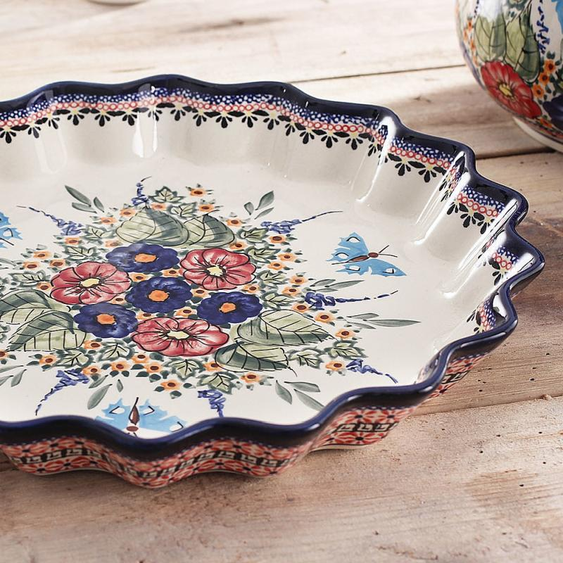 forma do pieczenia tarty ceramiczna