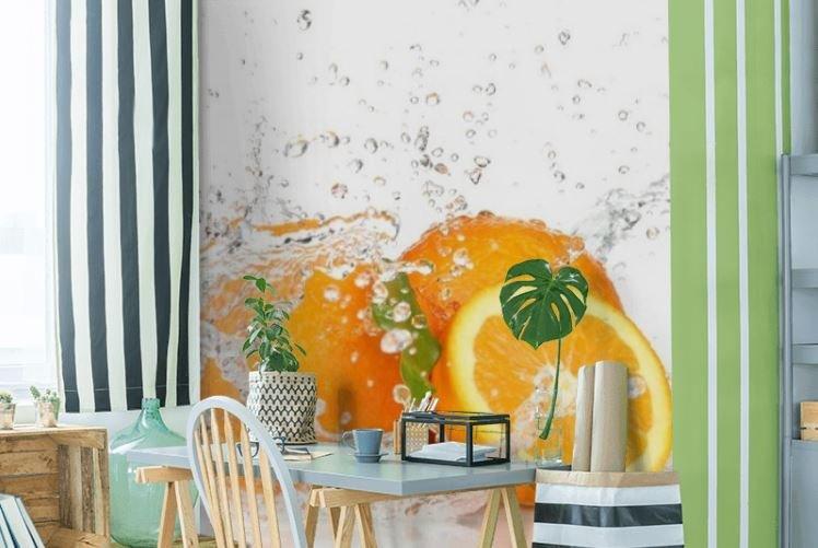 Fototapeta z motywem owoców