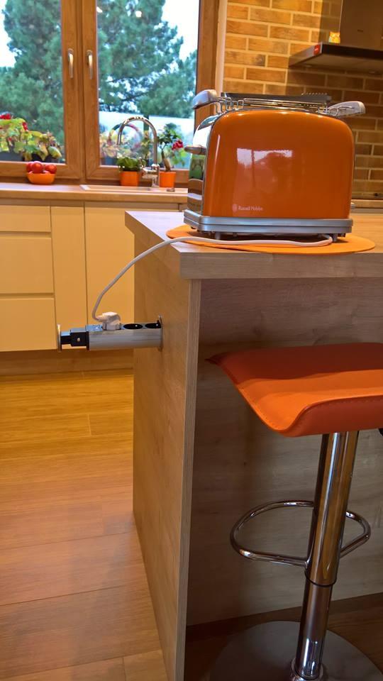 Gniazda elektryczne w kuchni - rozmieszczenie