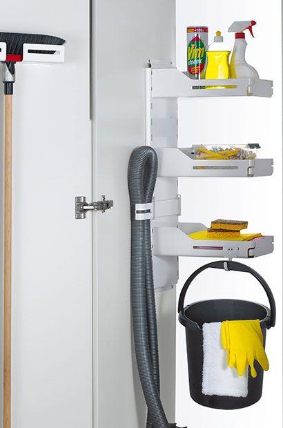 Inne rodzaje Strefa gospodarcza w kuchni - jak przechowywać detergenty TV11