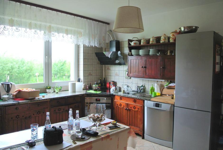 Drewniane fronty w kuchni - metamorfoza