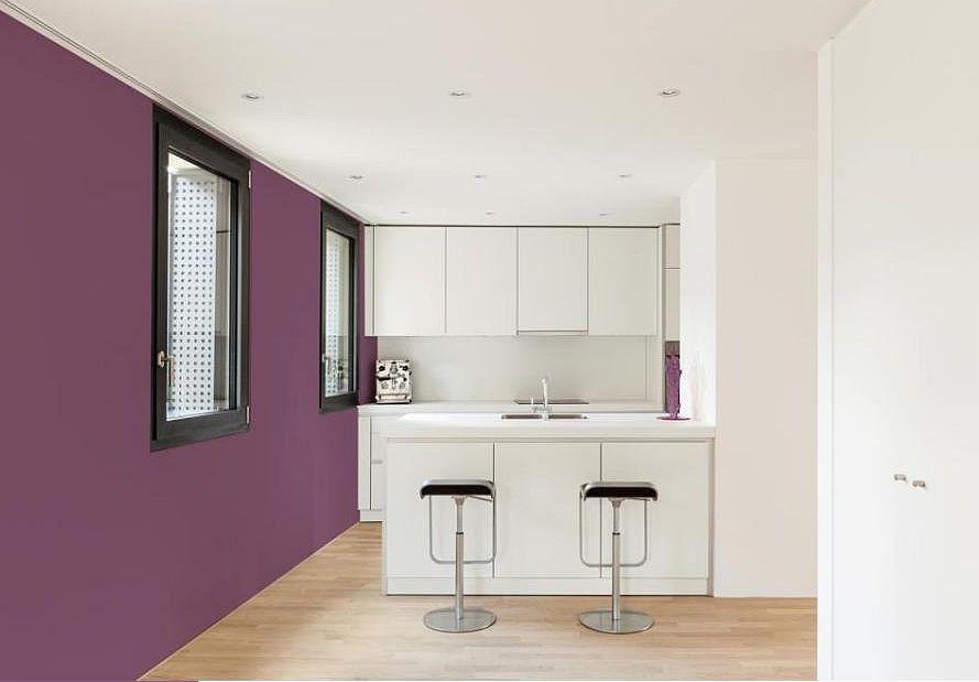 Kolory na ścianie w kuchni - aranżacje, projekty, zdjęcia realizacji
