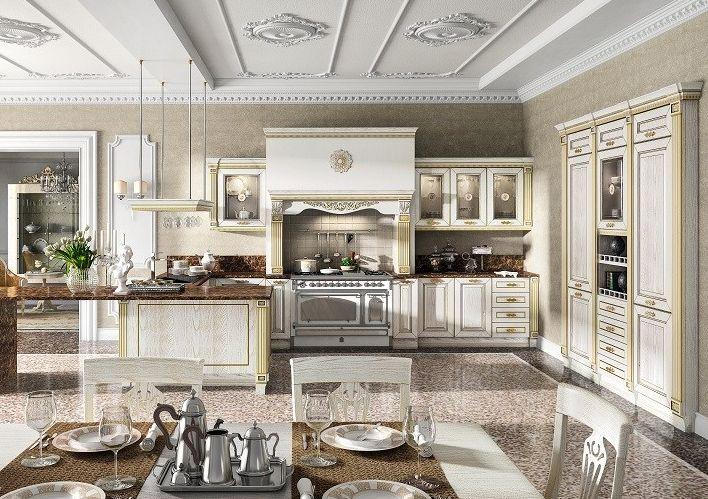 biała klasyczna kuchnia RAD-POL