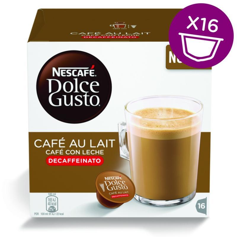 kawa z mlekiem bezkofeinowa - Nescafe Dolce Gusto