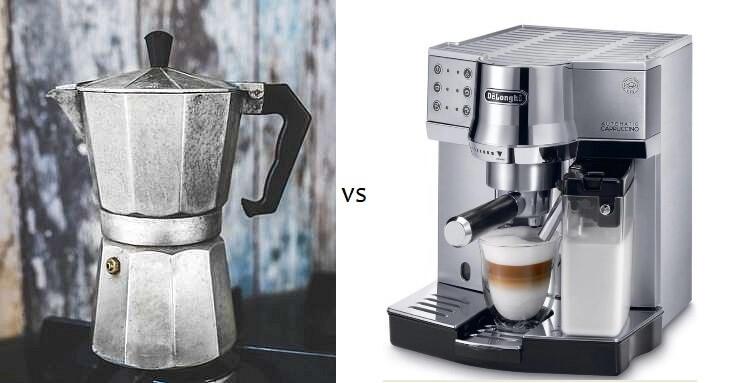 kawiarka czy ekspres kolbowy?